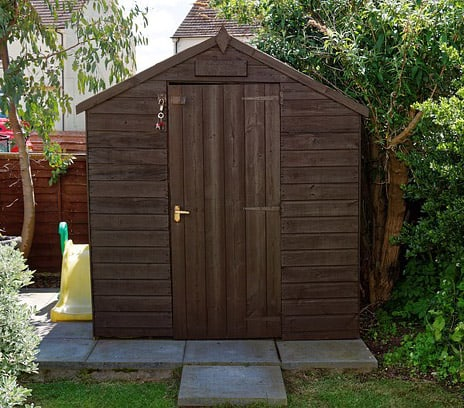 Backyard-garden-projects-structures-storage-shed