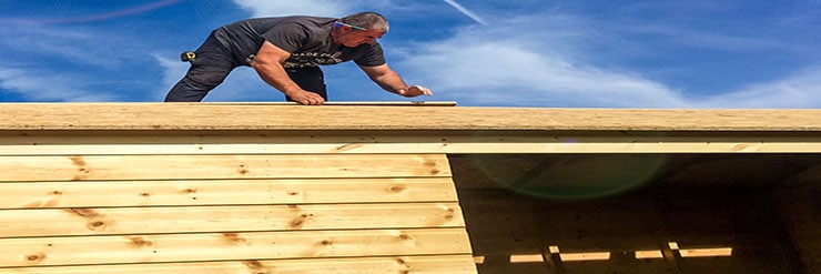 Can-You-Felt-a-Shed-Roof-in-the-Rain--roofing-felt