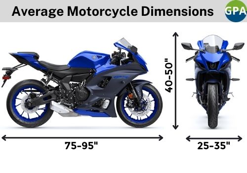 Average-Motorcycle-Dimensions-for-storage-shed