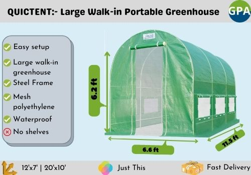 best portable greenhouse for the money
